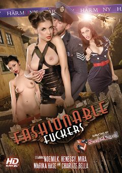 "Adult entertainment movie ""Fashionable Fuckers"" starring Mira Sunset, Marika Hase & Henessy. Produced by Harmony Films Ltd.."