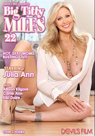 Big Titty MILFS 22, starring Julia Ann, Tommy Pistol, Allison Kilgore, Carrie Ann, Christian XXX, Kiki D'Aire and Mark Wood, produced by Devil's Film and Devils Film.