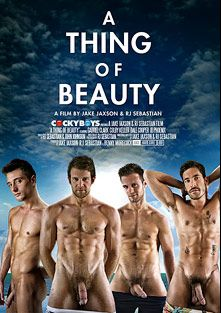 A Thing Of Beauty, starring J.D. Phoenix, Dale Cooper, Gabriel Lenfant and Colby Keller, produced by Cockyboys.