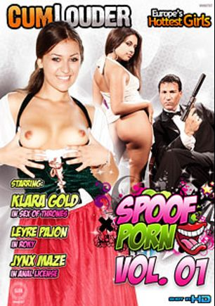 Spoof Porn, starring Klara Gold, Jynx Maze, Leyre Pajon, Juan Z, Rob Diesel, Nick Moreno and Marco Banderas, produced by Cum Louder.