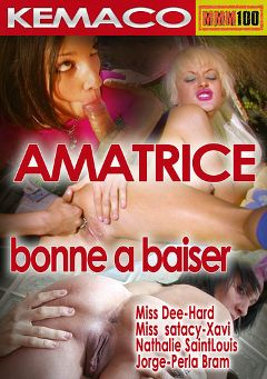 "Adult entertainment movie ""Amatrice Bonne A Baiser"" starring Perla Bram, Miss Dee & Nathalie Sainlouis. Produced by HPG Production."
