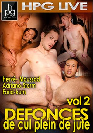 Defonces De Cul Plein De Jute 2, starring Farid, Kum, Moussad, Adriano, Herve and Storm (m), produced by HPG Production.