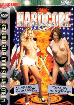 "Adult entertainment movie ""Hardcore U.S.A."" starring Dalia, Charlese Lamour & Alec Metro. Produced by Robert Hill Releasing Co.."