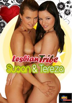 "Adult entertainment movie ""Lesbian Tribe: Susan And Tereza"" starring Tereza (f) & Susan. Produced by MVG Productions."
