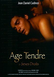 Age Tendre And Sexes Droits, starring Franck Emmanuel, Ange Dominique, Luigi Di Como, Laurent Bellegarde, Mickael Dickson, Francis Remusant, Jacques DeRives, Patrick Sorbier and Victor Castellanne, produced by CiteBeur and Cadinot-Fr.