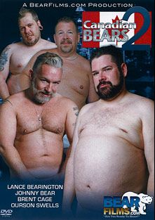 Canadian Bears 2, starring Sean Gill, English Guy, Ourson Swells, Lance Bearington, Brent Cage, Johnny Bear, Firebird Burlton, Davie Bear and Mathias Cubst, produced by Bear Films.