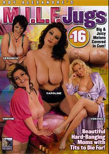 M.I.L.F. Jugs 16, starring Janet Darling, Yvonne Scott, Simone *, Caroline, Catherine Dream, Jonnie D. and Denis Reed, produced by Blue Coyote Pictures.