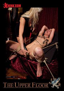 The Upper Floor: House Supper And Slave Initiation, starring Holly Heart and Jessie Cox, produced by Kink.