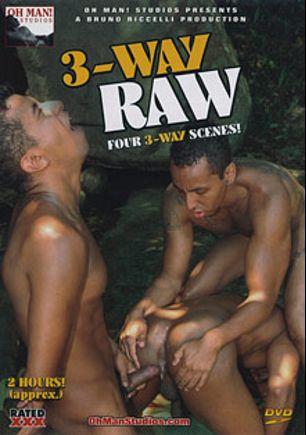 3-Way Raw, starring Felipe, Tony, Andres, Rick Solares, Henrique Silva, Bruno Mendes, Junior Feraz, Kaike Montani, Tiago De Castro, Sandro Bullock and Diego, produced by Oh Man! Studios.