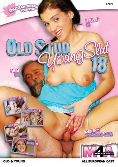 "Adult entertainment movie ""Old Stud Young Slut 18"" starring Livelvet, Tyna & Rachael. Produced by Sunset Media."