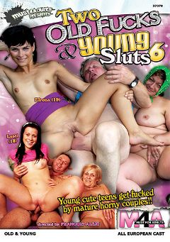 "Adult entertainment movie ""Two Old Fucks And Young Sluts 6"" starring Lusti, Catarine & Efrona. Produced by Gothic Media."