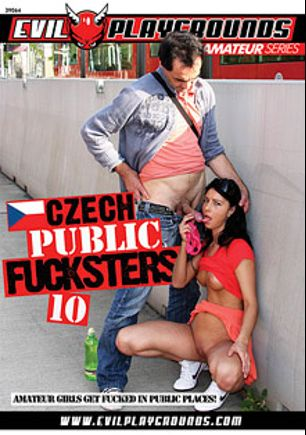 Czech Public Fucksters 10, starring Elis, Ralea, Regina, Sharon and Jana, produced by Gothic Media, Sunset Media and Evil Playgrounds.