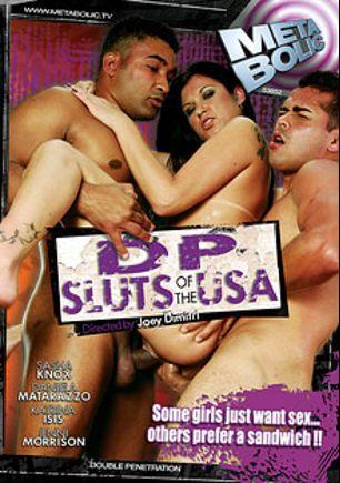 DP Sluts Of The USA, starring Daniela Matarazzo, Katrina Isis, Jenni Morrison and Sasha Knox, produced by Metabolic, Gothic Media and Sunset Media.