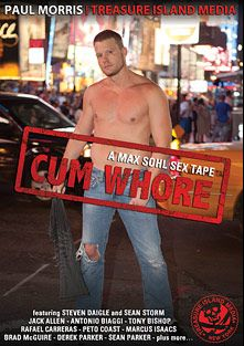 Cum Whore, starring Steven Daigle, Marcus Isaacs, Sean Parker, Archer Adams, Randy Harden, Kannon, Jacob Lee, Peto Coast, Jack Allen, Eddie (TIM), Antonio Biaggi, Rafael Carreras, Derek Parker, Tony Bishop, Dimitri Santiago, Diego Alvarez, Brad McGuire and Sean Storm, produced by Treasure Island Media.