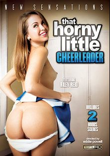 That Horny Little Cheerleader, starring Riley Reid, Cara Swank, Mandy Sky, Presley Hart, Bruce Venture, Brooke Lee Adams, Missy Lou, Anthony Rosano, Ramon Nomar, Mark Ashley and Erik Everhard, produced by New Sensations.