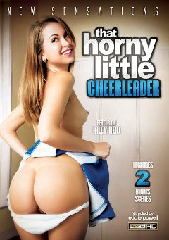 "Adult entertainment movie ""That Horny Little Cheerleader"" starring Riley Reid, Cara Swank & Mandy Sky. Produced by New Sensations."