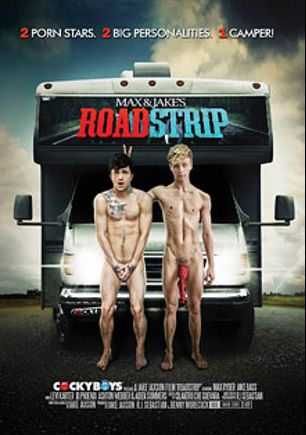 Road Strip, starring Max Ryder, Jake Bass, Ashton Webber, Levi Karter, J.D. Phoenix, Aiden Summers and Kevin Warhol, produced by Cockyboys.