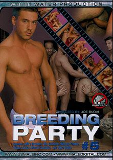 Breeding Party 5, starring Win Soldier, Jeffrey Branson, Tattoo Junior, Franky, Mickey, Chris Hacker, Alfredo Castaldo and Nico Blade, produced by White Water Productions.