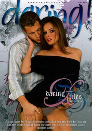 Daring X Files 10, starring Tori Black, Lana B, Cathy Heaven, Marc Rose, Jasmine Web, Johnny XL, Holly D, Peter O Tool, Kiara Diane, Delta White, Cindy Hope, Angelica Black, Nilla, James Brossman, Chris Johnson, Tommy Boy and Nick Lang, produced by Daring Media.