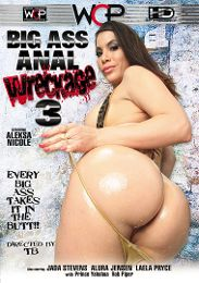 """Featured Category - Anilingus presents the adult entertainment movie """"Big Ass Anal Wreckage 3""""."""