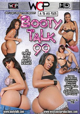 Booty Talk 99, starring Sonia Roxxx, Ivy Sherwood, Mary Jean, Ericka Liu, Cherry Hilson, Rob Piper, Rico Strong and Nat Turner, produced by West Coast Productions.