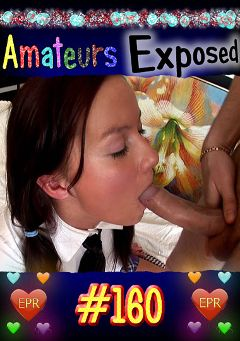 "Adult entertainment movie ""Amateurs Exposed 160"". Produced by European Productions."