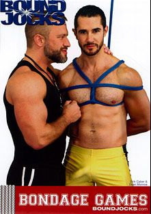 Bondage Games, starring Dirk Caber, Dean Monroe, Angel Rock, J.R. Bronson, Connor Patricks, Landon Conrad, Adam Champ and Alex Summers, produced by COLT Studio Group and BoundJocks.