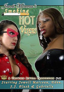 Smoking Hot Vixens, starring JJ Plush, Jewell Marceau, Selina Minx, Gabriell (f) and Eden, produced by Jewell Marceau Productions.