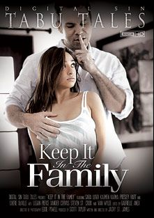 Keep It In The Family, starring Sara Luvv, Karmen Karma, Van Wylde, Logan Pierce, Cherie DeVille, Presley Hart, Xander Corvus and Steven St. Croix, produced by Digital Sin.