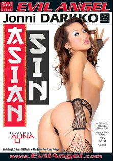 Asian Sin, starring Alina Li, Cindy Starfall, Gaia (f), Jayden Lee and Tia Ling, produced by Darkko Productions and Evil Angel.