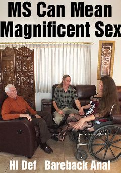 "Adult entertainment movie ""MS Can Mean Magnificent Sex"" starring Marie, Rob Thomas (Hot Dicks Video) & Carl Hubay. Produced by Hot Dicks Video."