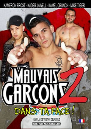 Mauvais Garcons 2, starring Kader Jawell, Lyam Dylan, Kameron Frost, Sunny Blue (m), Mike Tiger, Clemboy, Kamel Crunch, Fabien Kiffeur and Ronan, produced by Le Kiff.