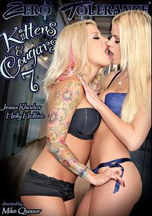Kittens And Cougars 7, starring Jessa Rhodes, Helly Mae Hellfire, Payton Simmons, Nina Elle, Kiera Winters, Abby Cross, Aaliyah Love and Charmane Star, produced by Zero Tolerance.