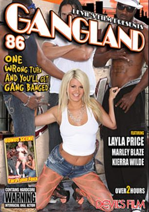Gangland 86, starring Laela Pryce, Kierra Wilde, Marley Blaze, Moe Johnson, Jason Brown, D-Snoop, Rico Strong, Wesley Pipes, Mark Anthony and Tony Eveready, produced by Devils Film and Devil's Film.