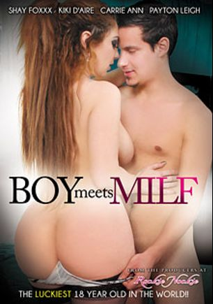 Boy Meets MILF, starring Kiki D'Aire, Sonny Nash, Shay Fox, Payton Leigh and Carrie Ann, produced by Rookie Nookie.