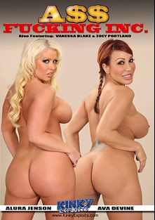 Ass Fucking Inc, starring Alura Jenson, Ava Devine, Zoey Portland and Vanessa Blake, produced by CX WOW Production.