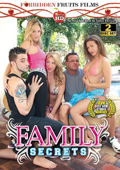 "Adult entertainment movie ""Family Secrets"" starring Payton Simmons, Callie Calypso & Jodi West. Produced by Forbidden Fruits Films."