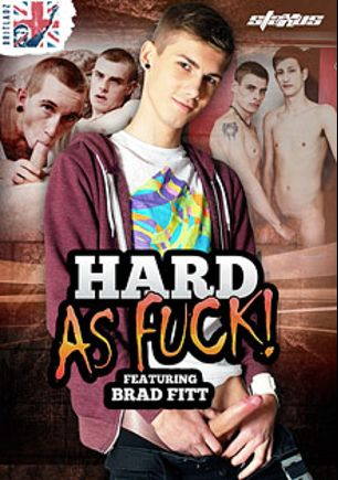 Brit Ladz: Hard As Fuck, starring Brad Fitt, Leo Foxx, Anthony Adams, Damion Harrison, Jamie West, Scott Carey and Lex Blond, produced by Staxus.
