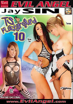 TS Playground 10, starring Katrina Zova, Tropicana, Sienna Grace, Bruna Castro, Brenda Lohan, Tamarah Camargo, Max Scar, Proxy Paige, Mandy Mitchell, Hyago Ribeiro, Alex Victor and Ed Junior, produced by Jay Sin Video and Evil Angel.