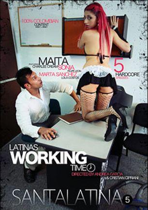 Santalatina 5: Latinas Working Time, starring Maita, Charlee Cream, Felipe Leon, Marta Sanchez, Lola Cositos and Sonia, produced by 1726 Media.