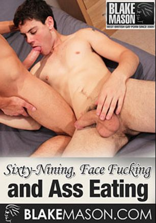 Sixty-Nining, Face Fucking And Ass Eating, starring Jake L. and Trey (m), produced by PornPlays and Blake Mason.