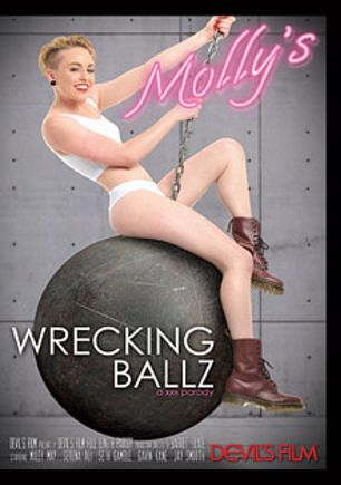 Molly's Wrecking Ballz: A XXX Parody, starring Miley Mae, Gavin Kane, Jay Smooth, Serena Ali and Seth Gamble, produced by Devils Film and Devil's Film.