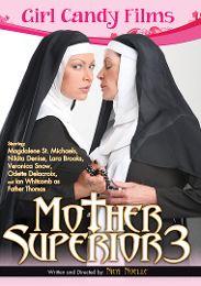 "Seasonal Picks presents the adult entertainment movie ""Mother Superior 3""."