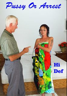 Pussy Or Arrest, starring Amanda Smith and Carl Hubay, produced by Hot Clits Video.