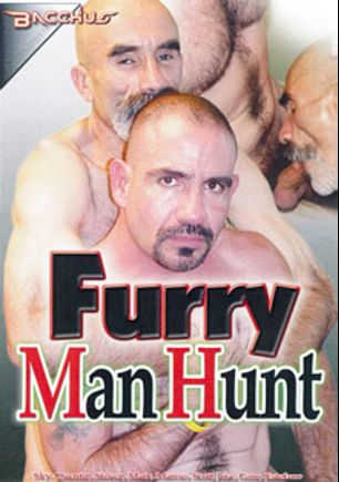 Furry Man Hunt, starring Sky (m), Spencer, Jose, Estefano, Scott, Mark, Marcus and Gino, produced by Bacchus.