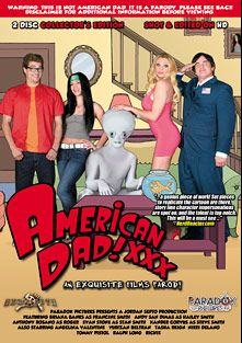American Dad XXX, starring Yurizan Beltran, Briana Banks, Nikki Delano, Xander Corvus, Tasha Reign, Bill Bailey, Andy San Dimas, Ralph Long, Angelina Valentine, Tommy Pistol, Anthony Rosano and Evan Stone, produced by Paradox Pictures.