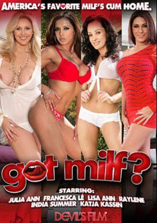 Got MILF, starring Raylene, Lisa Ann, Julia Ann, Francesca Le, Jessy Jones, India Summer, Alex Gonz, Scott Nails, Katja Kassin and Mark Wood, produced by Devils Film and Devil's Film.