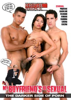 "Adult entertainment movie ""My Boyfriend's Bisexual"" starring Princiany Carvalho, Andre Bueno & Ed Junior. Produced by Robert Hill Releasing Co.."