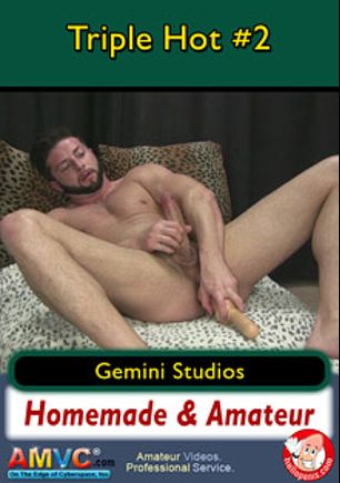 Triple Hot 2, starring Cameron (m), Bradley and Gio, produced by Gemini Studios.