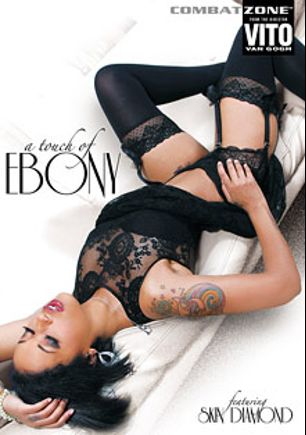 A Touch Of Ebony, starring Skin Diamond, Adriana Malao, Chanell Heart and Tori Taylor, produced by Combat Zone.
